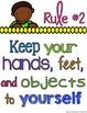 Classroom Rule Posters FREEBIE