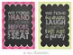 Classroom Rule Posters {Subway Art Decor}