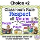 Classroom Rule Poster  Respect All Nouns (FREE)