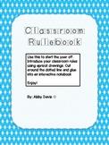 Classroom Rulebook