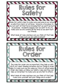 Classroom Rules {8 Lesson Unit!}