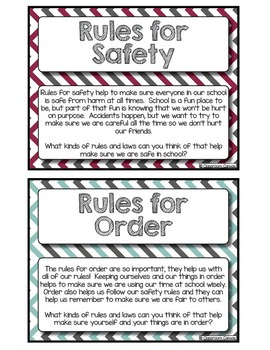 Classroom Rules {8 Lesson Unit!}