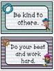Classroom Rules (Nautical Theme)