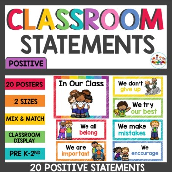 Positive Classroom Statements