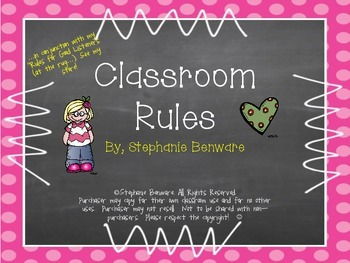 """Classroom Rules"""