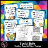 Classroom Rules Taking Care