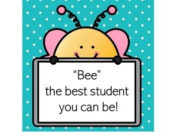 Bee Themed Classroom Rules