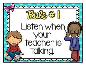 Classroom Rules