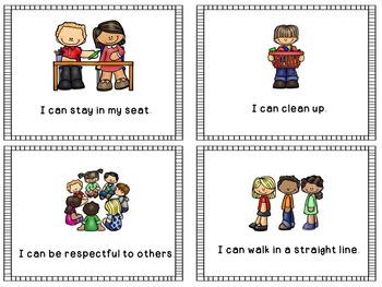 Classroom Rules {Posters and Make and Take Book}