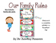 Editable Super Hero Themed Classroom Rules Set