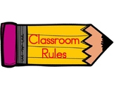 Classroom Rules - 3 R's