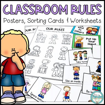 Classroom Rules Activities and Posters