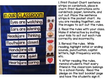 David's Classroom Rules Activity