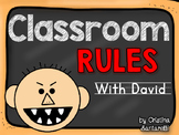 David's Classroom Rules Activity