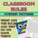 Classroom Rules Activity: Mystery Pictures {Also Why We Have These Rules}