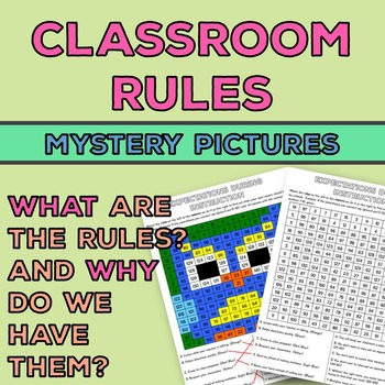 Classroom Rules Activity: Mystery Pictures {Also Why We Ha
