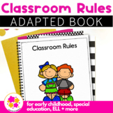 The Rules, a book about classroom rules: Adapted Book for Special Education