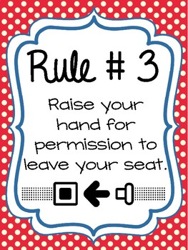 Classroom Rules & Attention Getters - Airplane