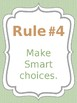 Classroom Rules & Attention Getters - Beach - Editable