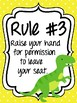 Classroom Rules & Attention Getters - Dinosaurs