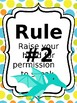 Classroom Rules & Attention Getters - Dinosaurs - Editable
