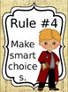 Classroom Rules & Attention Getters - Harry Potter - Editable