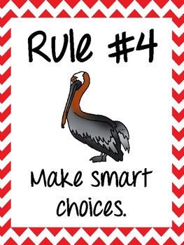 Classroom Rules & Attention Getters - Louisiana