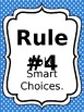 Classroom Rules & Attention Getters - Primary Polka Dot - Editable