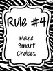 Classroom Rules & Attention Getters - Safari