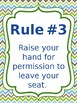 Classroom Rules & Attention Getters - Turtles - Editable