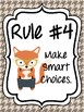 Classroom Rules & Attention Getters - Woodland Animals