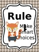 Classroom Rules & Attention Getters - Woodland Animals - Editable
