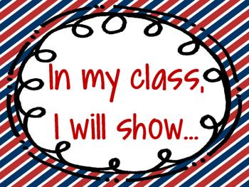 Classroom Rules/Attributes