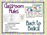 Classroom Rules 5-Day Unit with Monthly Reflection Booklet