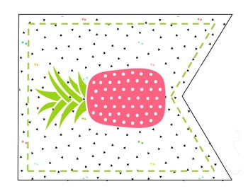 Classroom Rules Banners Pineapple Theme