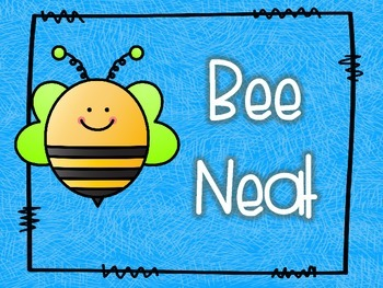 Classroom Rules-Bee Theme