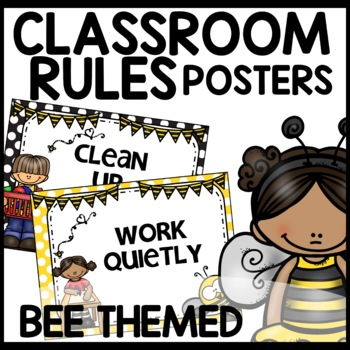 Classroom Rules (Bee Themed)