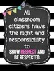 Classroom Rules, Behavior Clip Chart, Rewards, Consequence