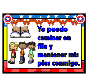 Classroom Rules    Behavior Clip Chart   Schedule Signs  SPANISH version