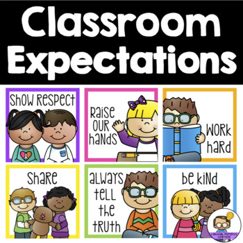 Classroom Rules Behaviour Expectations Posters