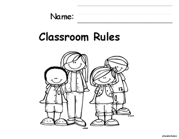 Classroom Rules Booklet