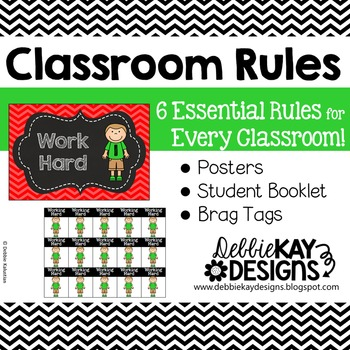 Classroom Rules & Brag Tags