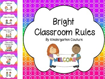 Classroom Rules =Bright