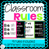 Classroom Rules {Bright & Bold}