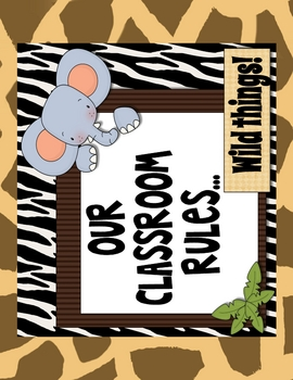 Classroom Rules Bulletin Board