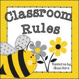 Classroom Rules {Bumble Bee Theme} Positive Behavior - Who