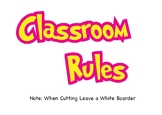 Classroom Rules Bunting