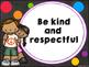 Classroom Rules (Chalkboard themed)