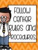 Classroom Rules Chevron Theme