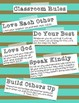 Classroom Rules {Christian School Edition}